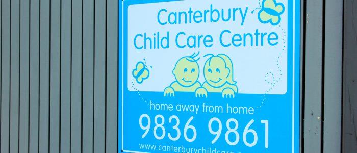 Canterbury Child Care Centre and Kindergarten